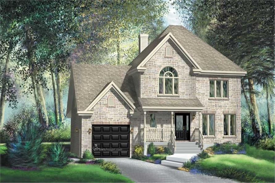 Main image for house plan # 12888