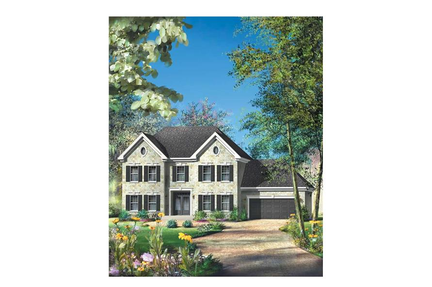 Main image for house plan # 12193