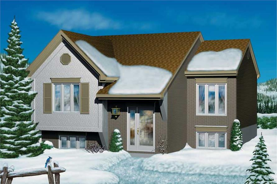 Main image for house plan # 12564