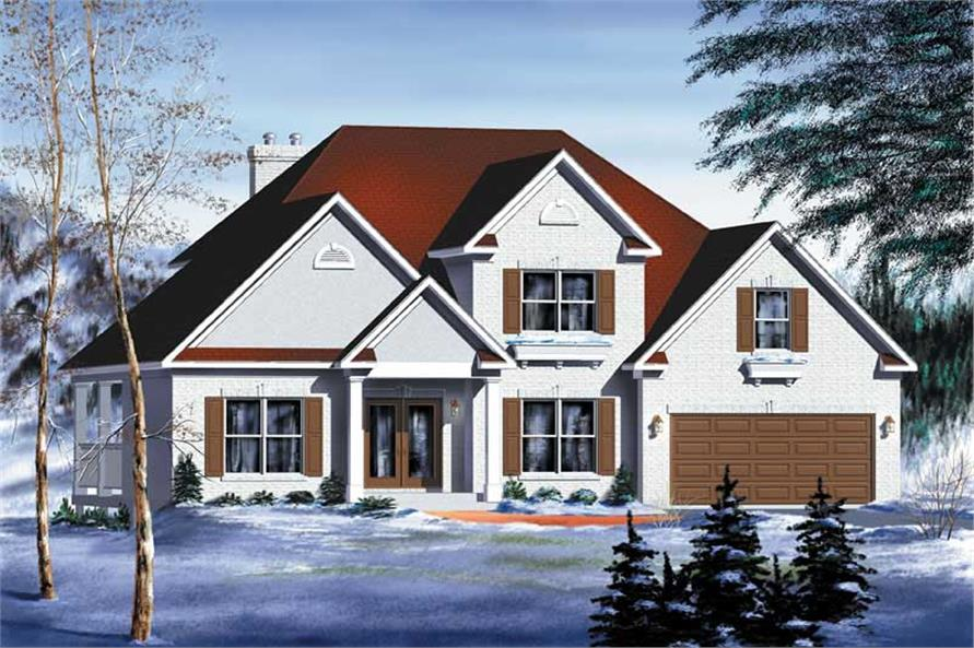Main image for house plan # 12234