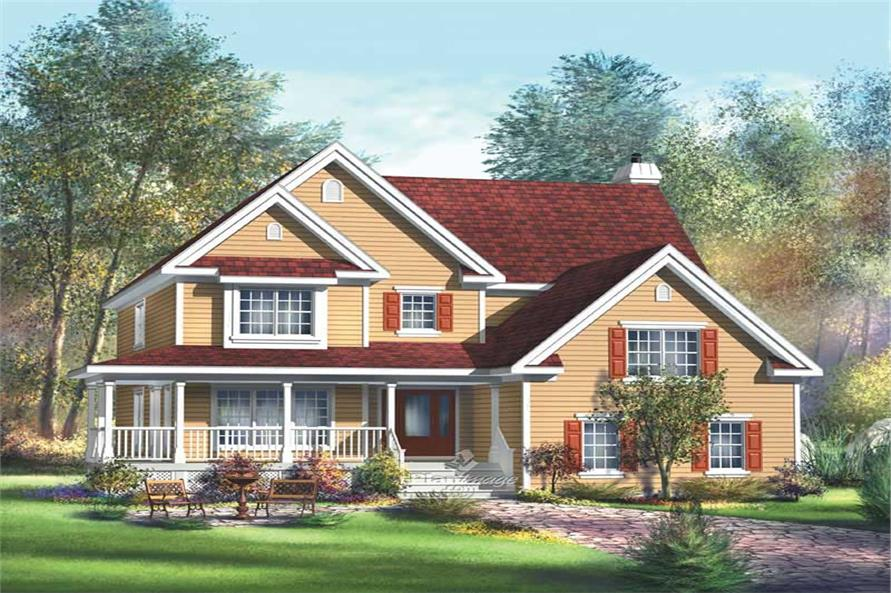 Main image for house plan # 12207