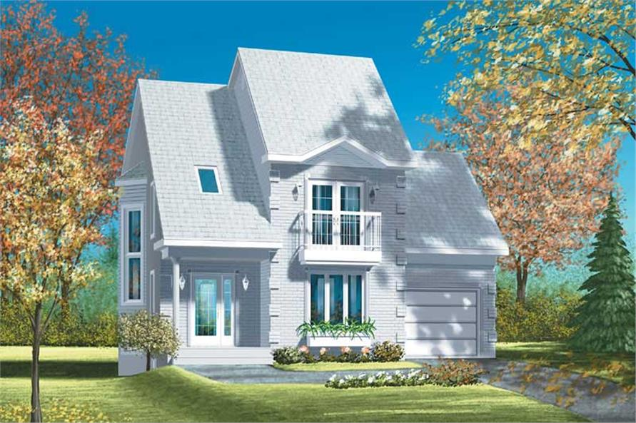 Main image for house plan # 12553