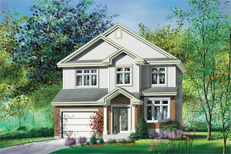 Main image for house plan # 12903