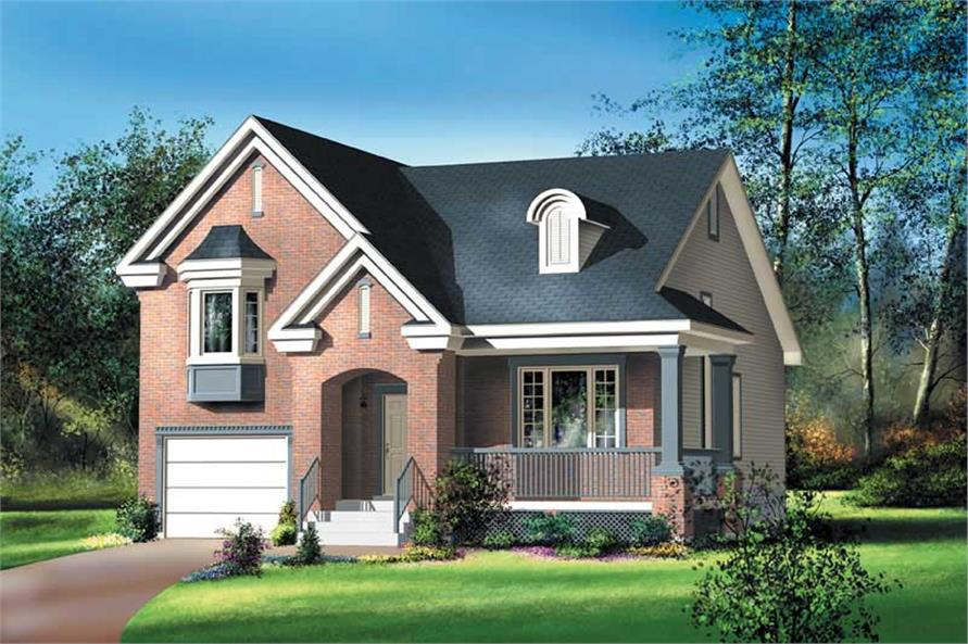 Main image for house plan # 12678