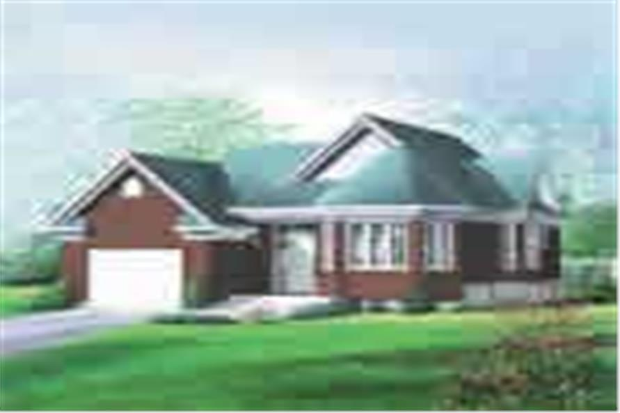 Main image for house plan # 12714