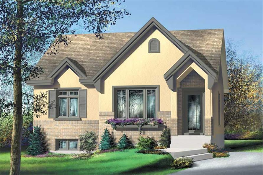 Main image for house plan # 12675