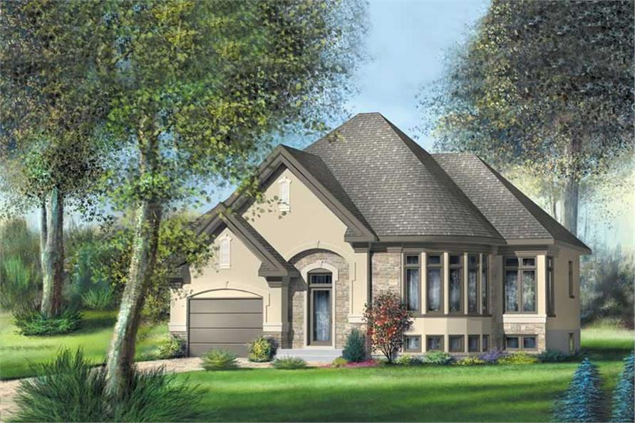 Main image for house plan # 12648