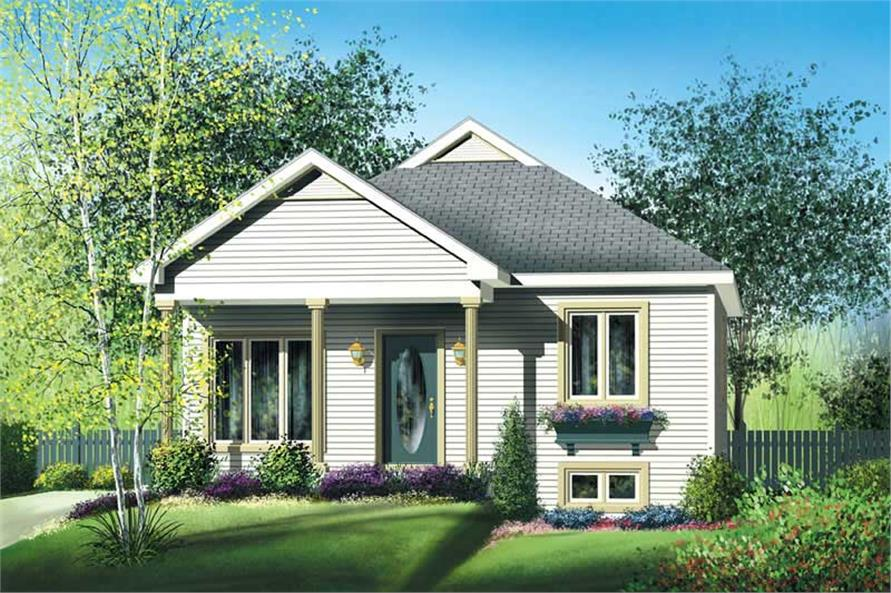 Main image for house plan # 12679