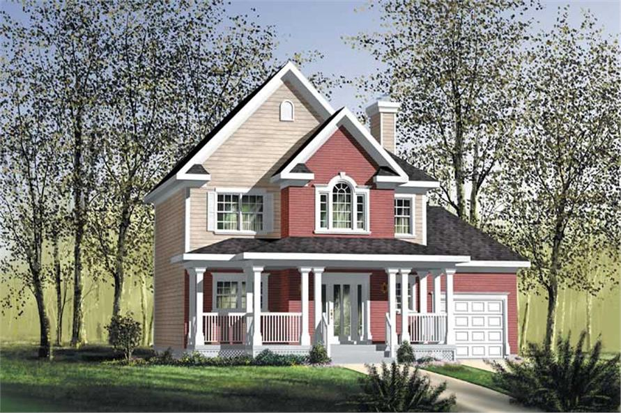 Main image for house plan # 12786