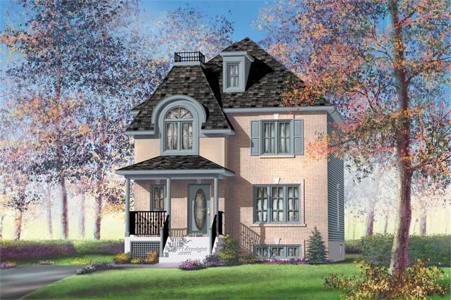 Main image for house plan # 12777