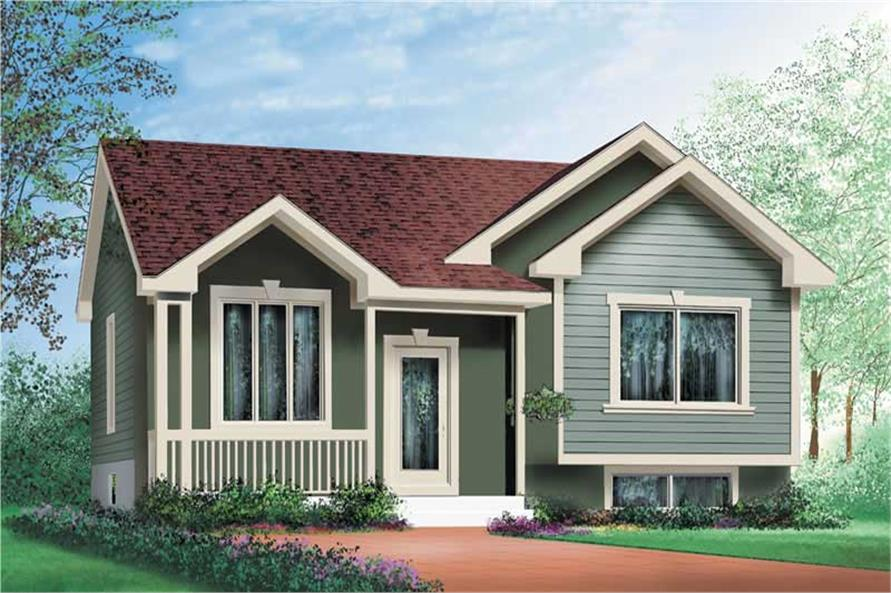 Main image for house plan # 12725