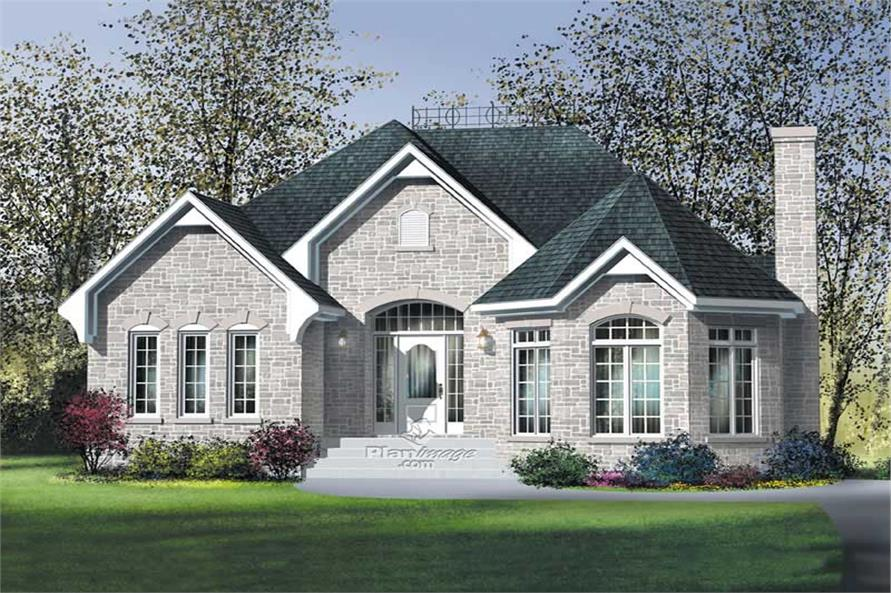 Main image for house plan # 12728