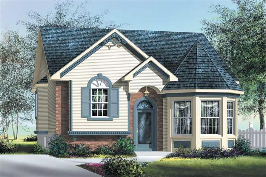 Main image for house plan # 12727