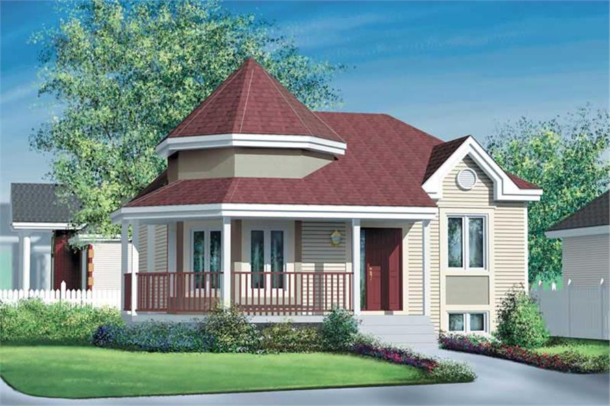 Main image for house plan # 12752