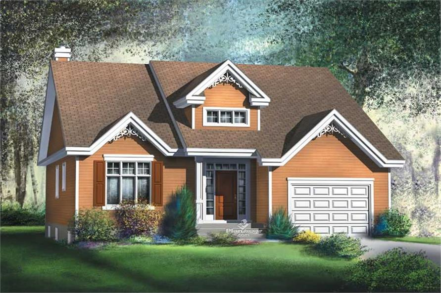 Main image for house plan # 12171