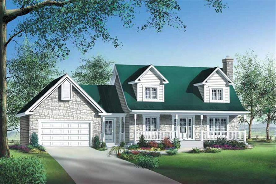 Main image for house plan # 12219