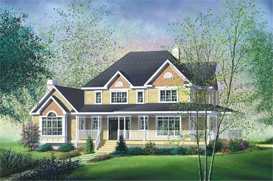 Main image for house plan # 12194