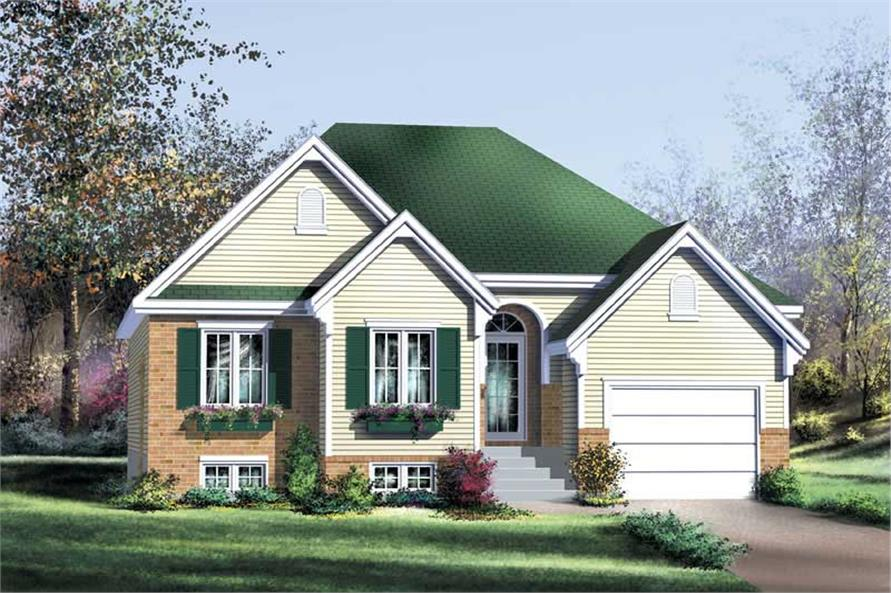 Main image for house plan # 12183