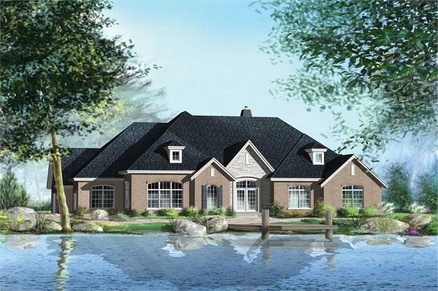Main image for house plan # 12179