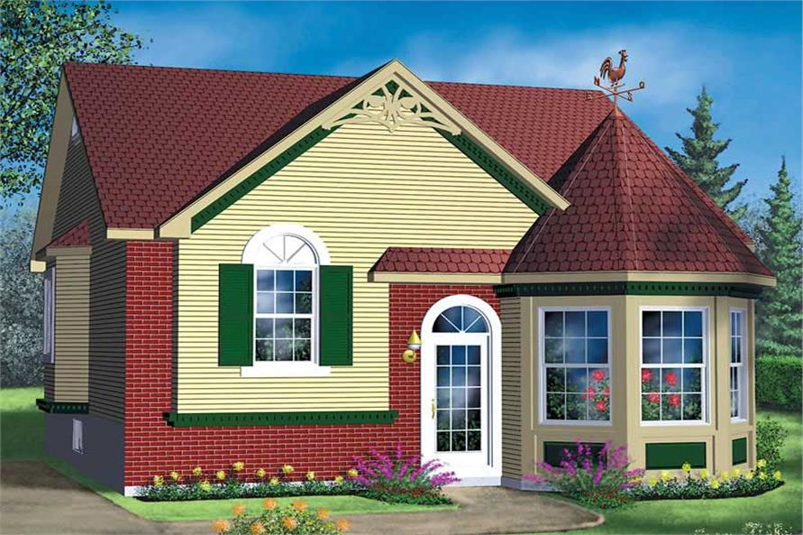 Main image for house plan # 12632