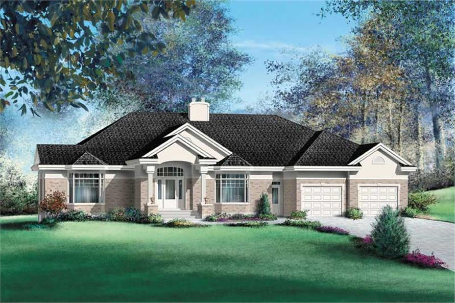 Main image for house plan # 12173