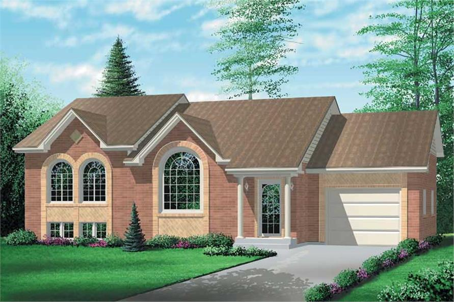 Main image for house plan # 12361