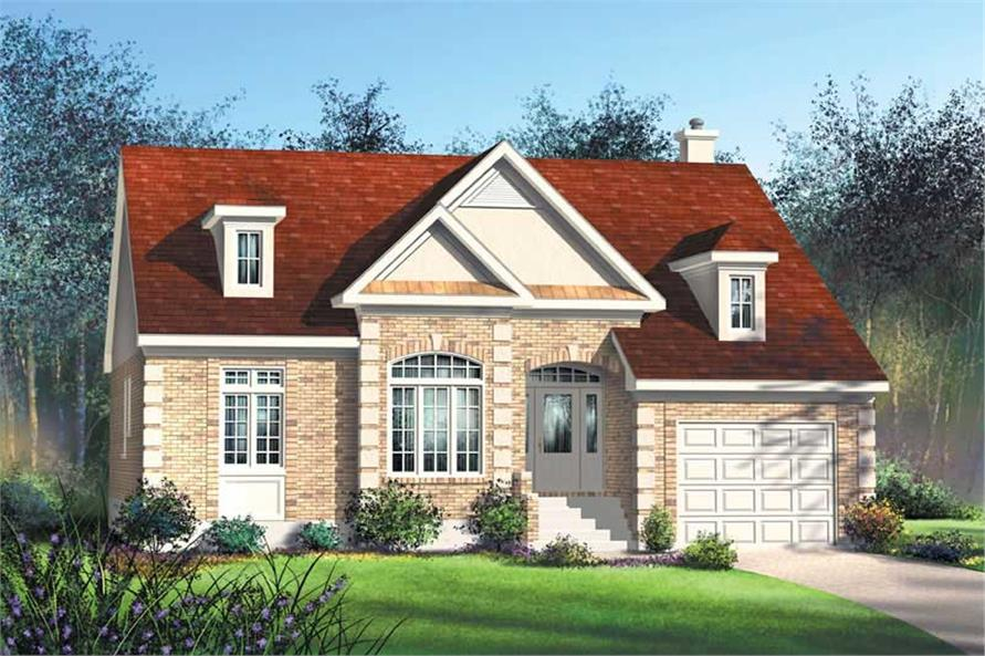 Main image for house plan # 12165