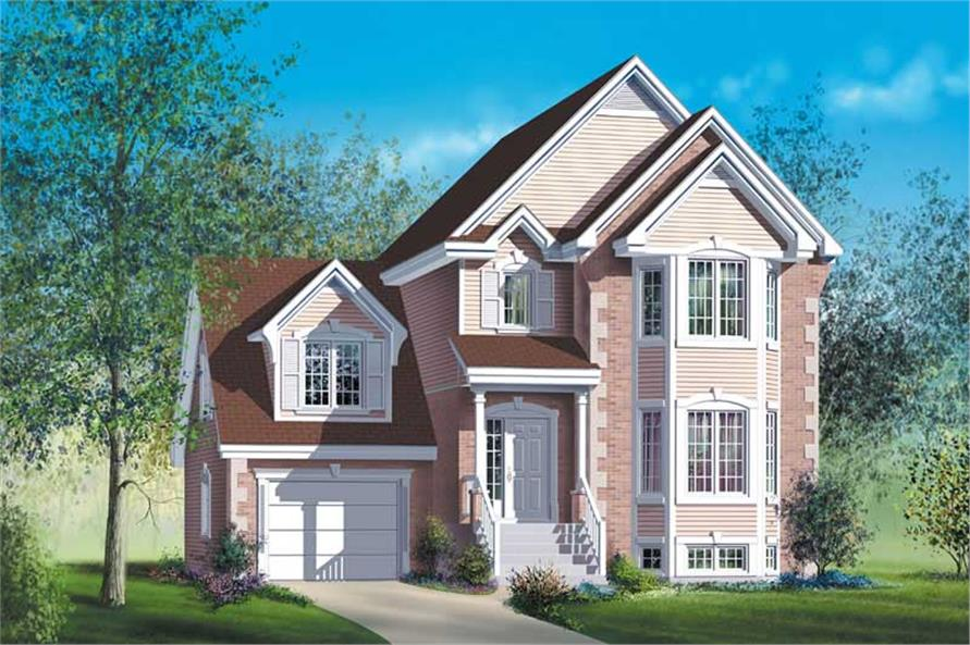 Main image for house plan # 12203