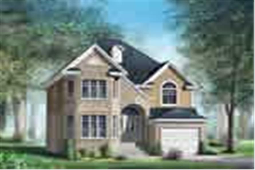 Main image for house plan # 12224