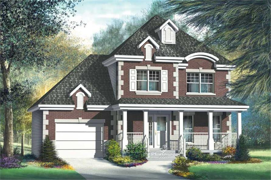 Main image for house plan # 12968