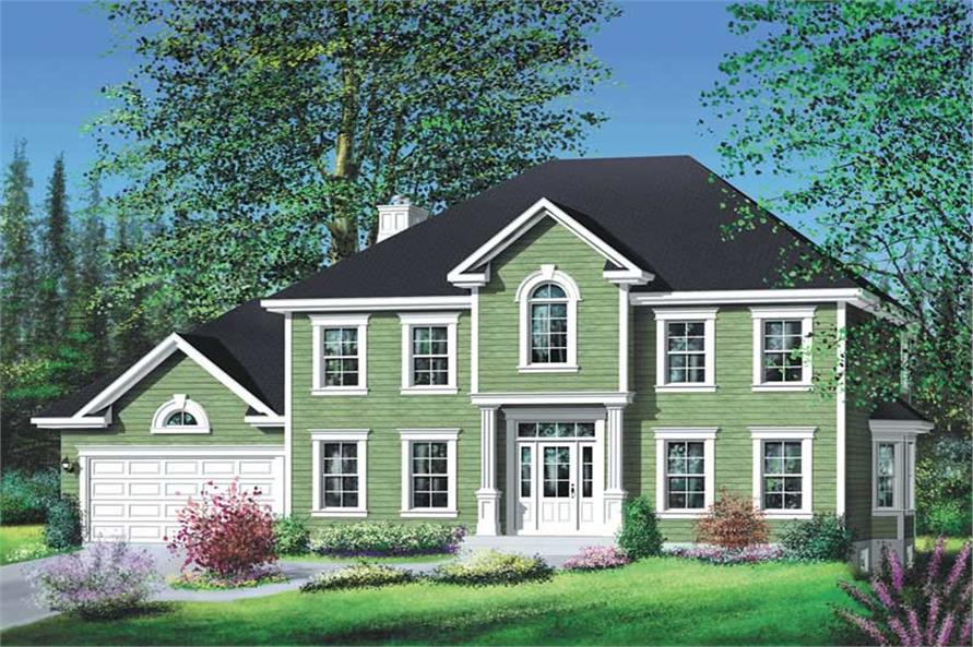Main image for house plan # 12214