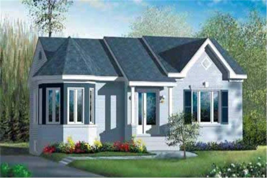 Main image for house plan # 12660