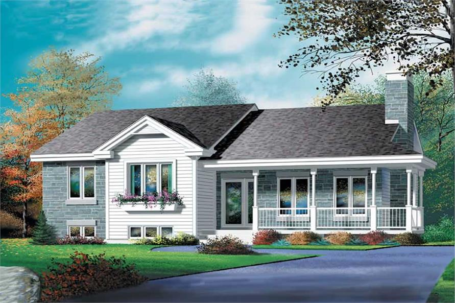 Main image for house plan # 12430