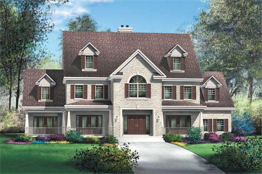 Main image for house plan # 12200