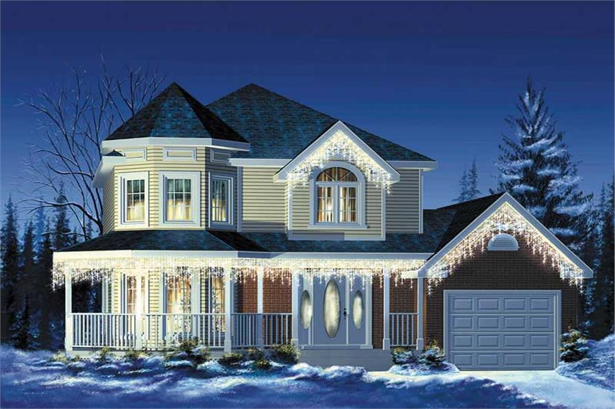 Main image for house plan # 12419