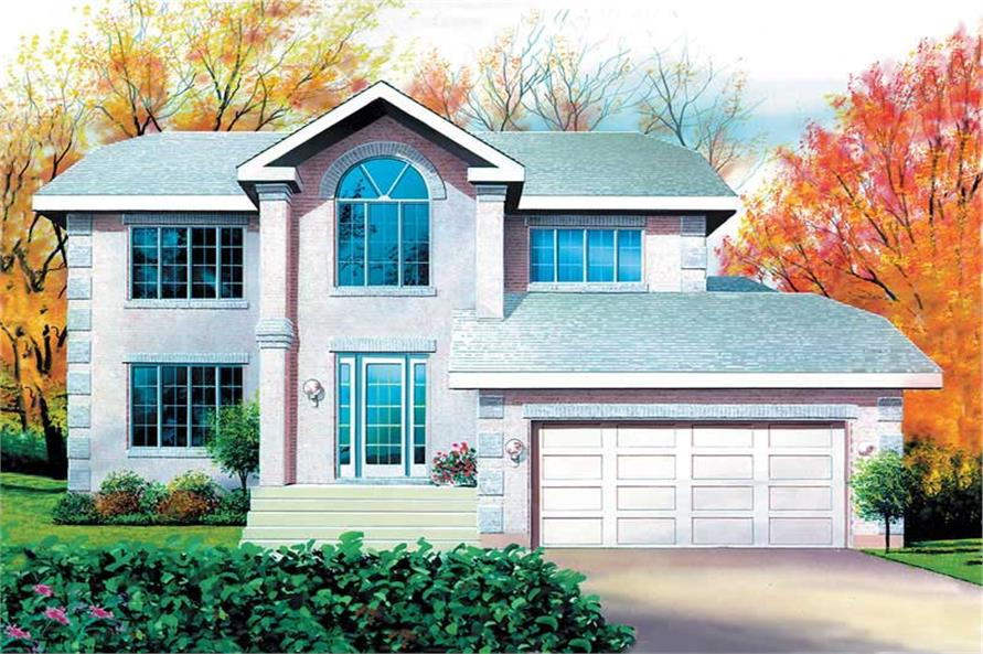 Main image for house plan # 12273