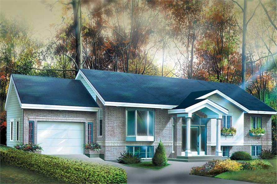 Main image for house plan # 12412