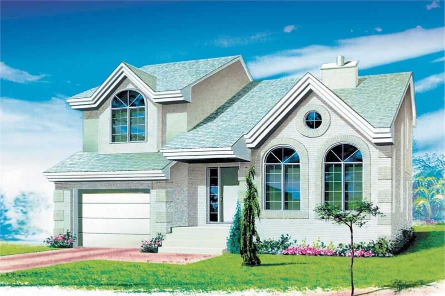 Main image for house plan # 12272