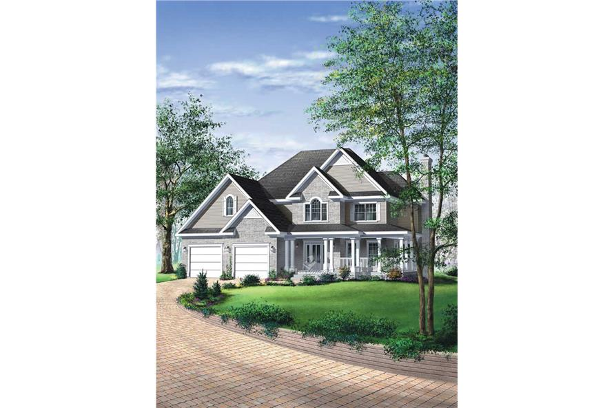 Main image for house plan # 12233