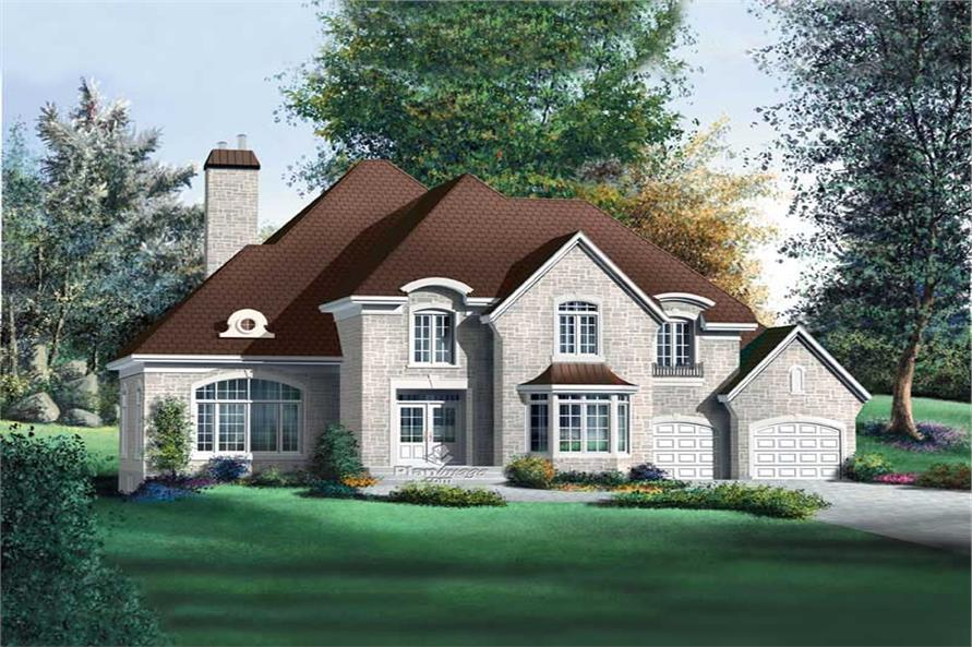 Main image for house plan # 12239