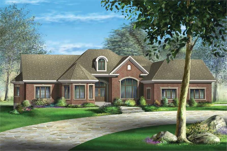 Main image for house plan # 12166