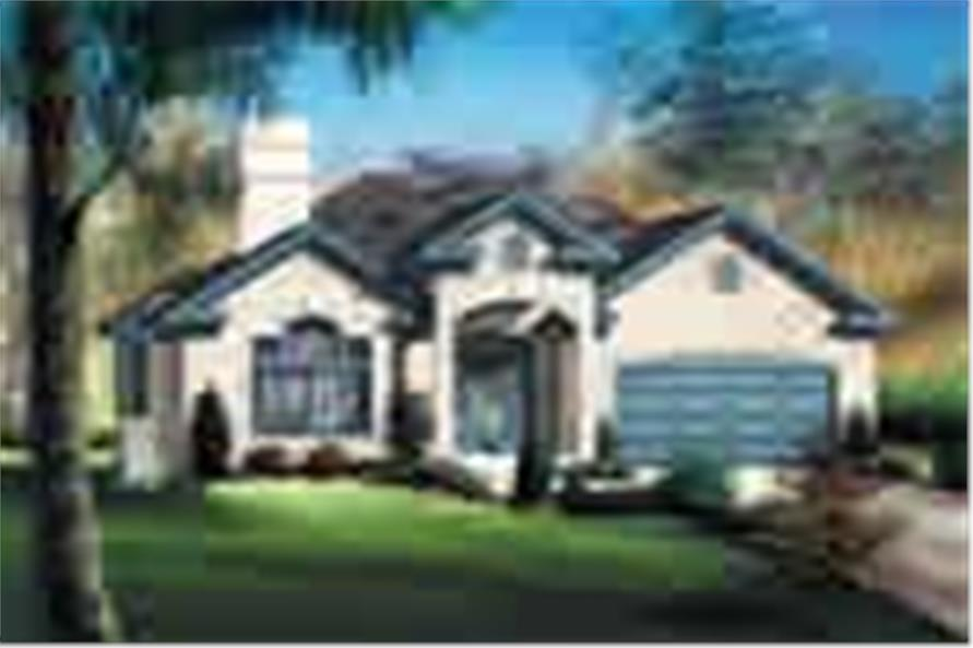 Main image for house plan # 12168