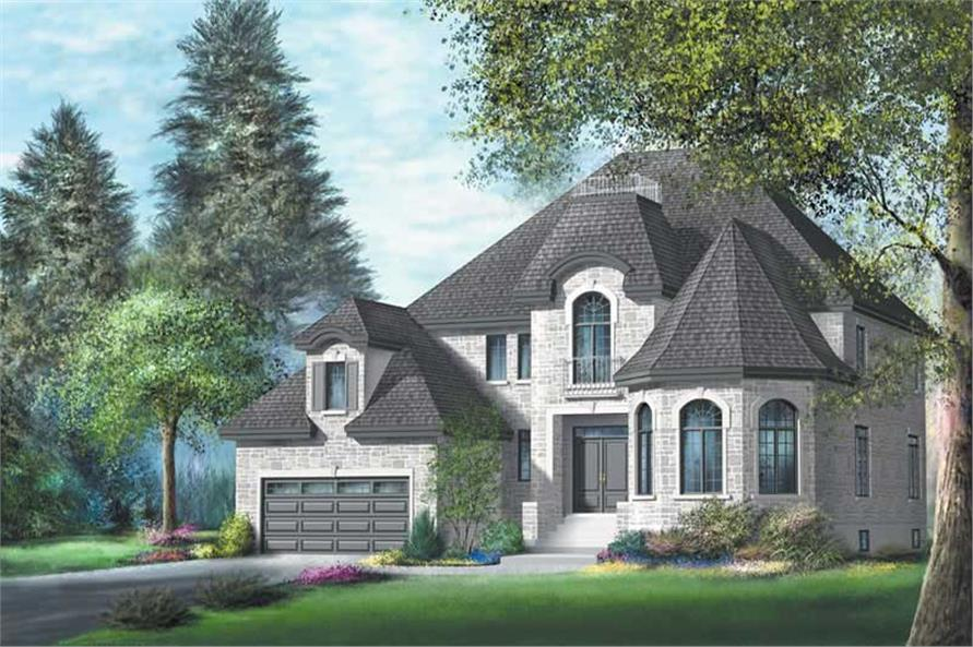 Main image for house plan # 12220