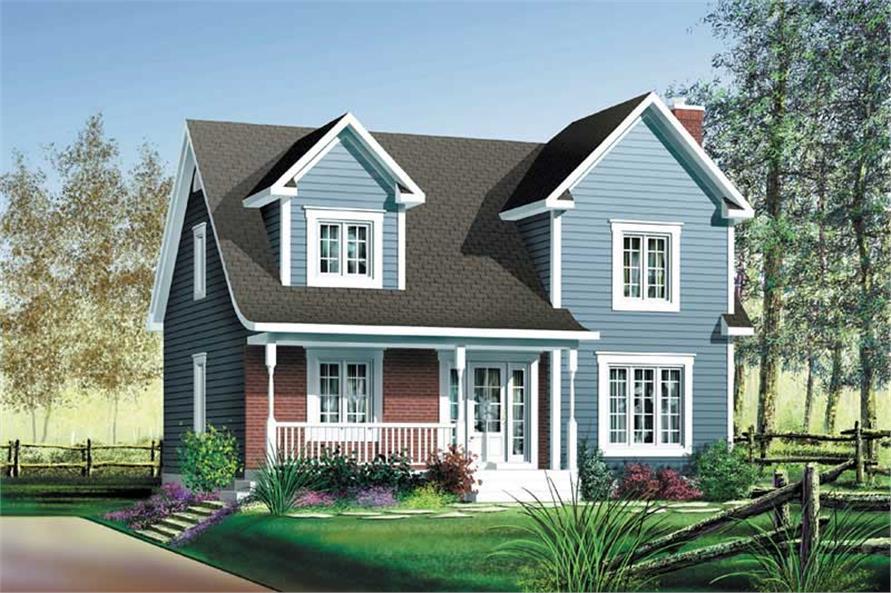 Main image for house plan # 12236