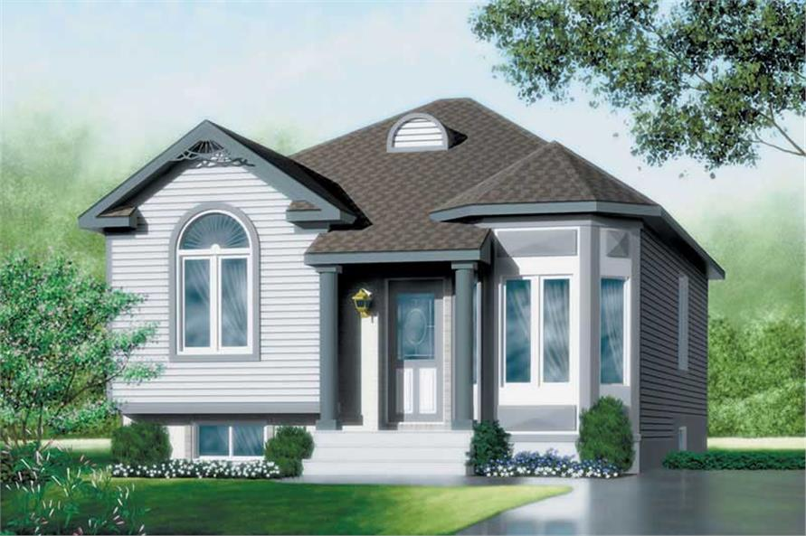 Main image for house plan # 12617
