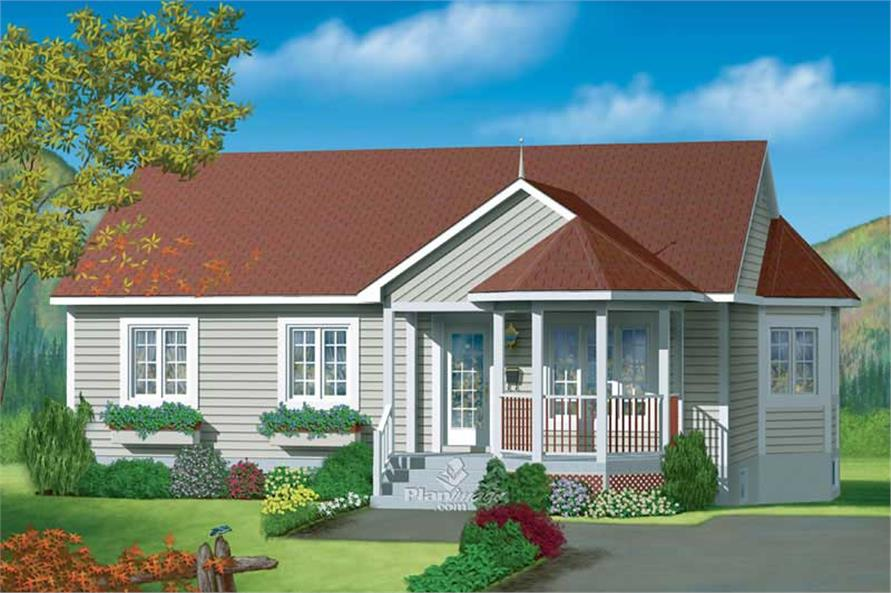 Main image for house plan # 12639