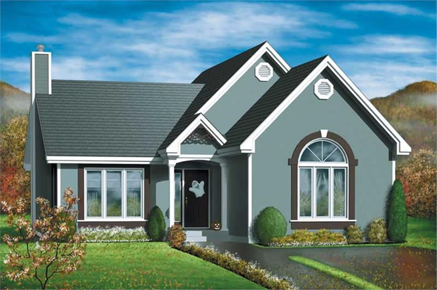 Main image for house plan # 12634