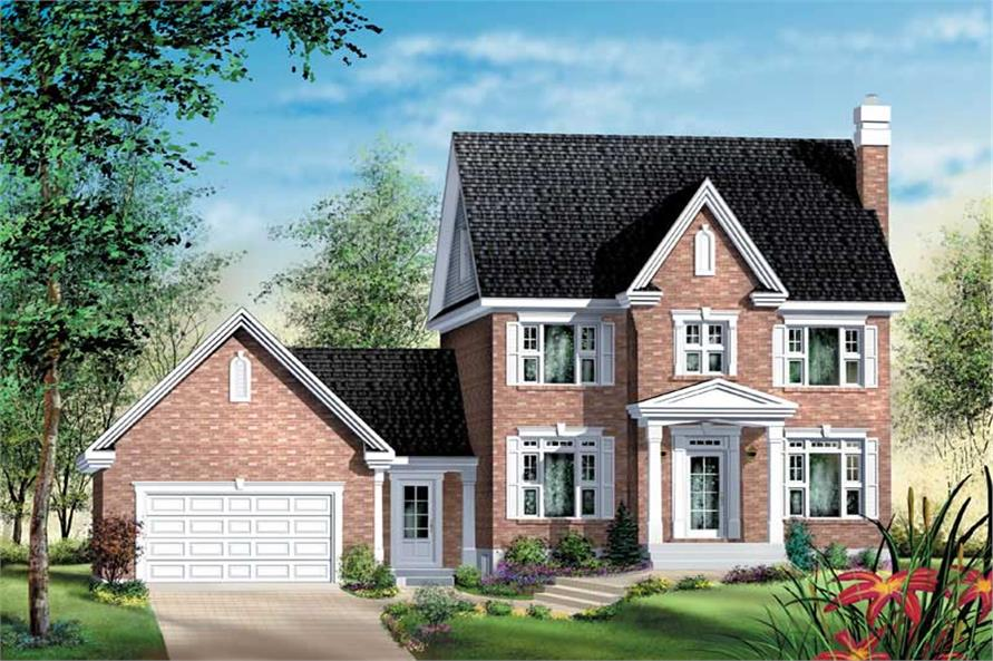 Main image for house plan # 12792
