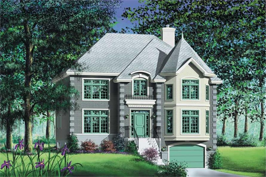 Main image for house plan # 12794