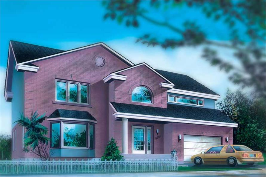 Main image for house plan # 12493